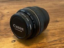 Canon EF 50mm f/1.4 USM Lens with Canon UV Haze Protector