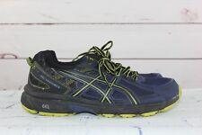 Asics Gel-Venture 6 Men's Size 9.5 4E Navy/Green Running Athletics Shoes
