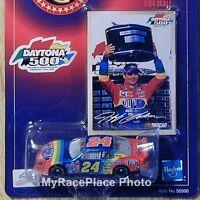 Jeff Gordon 1/64 NASCAR Diecast Car _ 1999 DAYTONA 500 WINNER * NO BULL RED #24