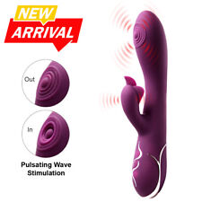Luvkis Silicone G-Spot Pulsating Vibrator Rechargeable Vagina Stimulator Sex Toy