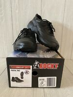 Rocky Leather Athletic Oxford Shoes - USPS Approved 9111101 - Men's Size 12 W
