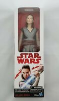 Star Wars The Last Jedi REY TRAINING Action Figure 12 Inch. NIB Disney - Hasbro.