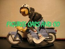 MOTO JOE BAR TEAM 73  MOBYLETTE MOTOBECANE BLEUE MATT MAMEUL