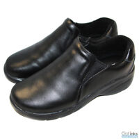 Women's Slip-On Leather Nursing Shoes Natural Uniforms Medium/Wide - 9112