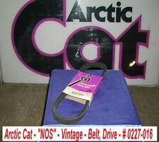 Arctic Cat Snowmobile Drive Belt # 0227-016 Vintage