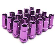 M12 X 1.25mm Aluminum Wheel Lug Nuts Purple Subaru Legacy Justy STI WRX Baja