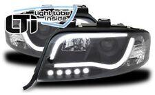 Fari Anteriori Dayline Daylight LTI CCFL Light Tube Audi A6 (C5 FL) 01-04  Neri