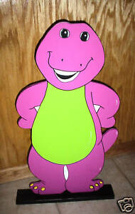 Barney stand up children's Birthday party decorations supplies