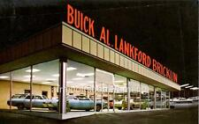 Old Photo. Norristown, Pennsylvania.  Al Lankford Buick-Opel-Bricklin