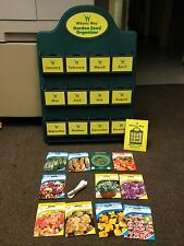 REDUCED JOB LOT WILSONS SEED ORGANISER INCLUDING 17 FREE PACKETS OF MIXED SEEDS