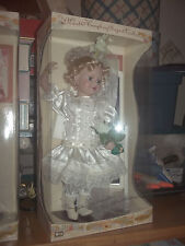 Pretty Maud Humphrey Bogart Collection Playing Bride Porcelain Doll MIB 2001