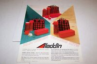 Vintage 1970s ALADDIN OUTING THERMOS KITS - ad sheet #0137