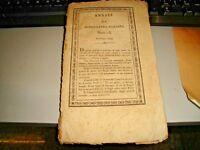 ANNALI DI AGRICOLTURA ITALIANA NUM. 13 GENNAJO 1820