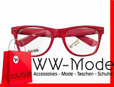 15335 Damen Sonnenbrille pink klar  UV 400  Neu
