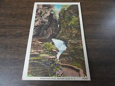 Vintage Unposted Color Postcard Of Minnehaha Falls In Watkins Glen, New York