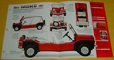 1965 Mini Moke 4 Cylinder 848cc 34hp Single Solex Carb IMP Info/Specs/photo 15x9