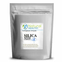 60 SILICA AND MSM COMPLEX - MARINE COLLAGEN FORMULA, GLOW SKIN, NAILS AND HAIR