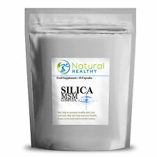 SILICA AND MSM COMPLEX - MARINE COLLAGEN FORMULA, GLOW SKIN, NAILS AND HAIR