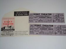 THE STRAWBERRY ALARM CLOCK 1969 UNUSED TICKETS w WILL CALL ENVELOPE KRNT USA pur