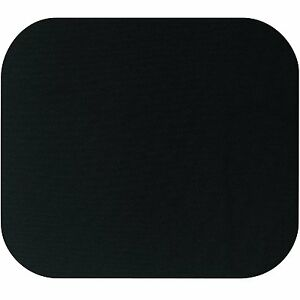 6 mm Fabric Mouse Mat Pad BLACK  For All Mice Types pc desktop computer laptop