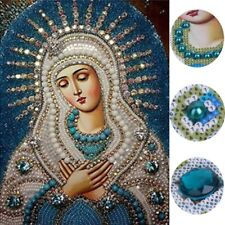 Religious DIY 5D Diamond Embroidery Painting Rhinestone Cross Stitch Home Decor