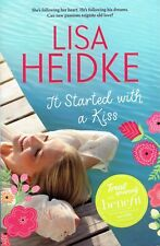It Started with a Kiss by Lisa Heidke (Paperback, 2015) Like New, Free Shipping.