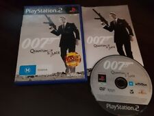 007 Quantum of Solace - Playstation 2 - PS2 Complete vgc free post james bond