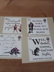 1996 Robert Burns Phq Cards