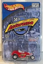 Hot Wheels 2002 Limited Edition 50th Detroit Autorama - Red Deuce Roadster RR