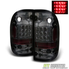 For Smoked 2001-2004 Toyota Tacoma Pickup LED Tail Lights Lamps 01-04 Left+Right