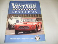 PITTSBURGH VINTAGE GRAND PRIX PROGRAM 1991 w/ 80 PAGES , ADS MAP ETC /e5