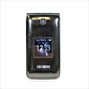 Alcatel Quickflip 4044T (Sprint) 4G LTE Flip Phone - Black, Clean IMEI