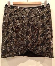 848a8d152451 Hunt No More Size 10 Black Sequin Mini Skirt