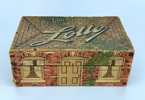 VINTAGE c.1920's CHAD VALLEY Series of Games THE GREAT GAME OF LOTTO - Complete