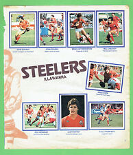 #T19. 1983 SCANLENS RUGBY LEAGUE STICKERS - ILLAWARRA STEELERS & SOUTH SYDNEY