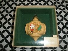 "1983 Vintage Hallmark Christmas Ornament, ""Santa'S On His Way"" N642"