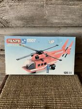 Vintage Tente Toy Building Set Helicopter Toy Tente Helicopter Set