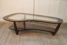 MCM Bimorphic Kidney Shaped Rosewood Coffee Table Manner of Wormley/Pearsall