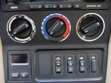 D BMW Z3 Chrom Gebläseschalterringe -  Edelstahl poliert 3 Ringe
