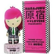 Harajuku Lovers Wicked Style Music 30ml EDT Spray / PERFUME WOMAN NEW IN BOX