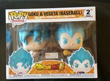 Funko Pop! Goku & and Vegeta ( Baseball ) 2 Pack Boxlunch Exclusive