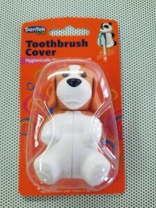 Toothbrush Cover DenTek Kids Puppy Hygienically Stores Your Child's Toothbrush