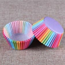 Baking Cup Cupcake Paper Muffin Cases Cake Box Cup Tray Cake Mold Rainbow Liners