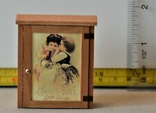 Wall Cabinet Dollhouse Miniature 1:12 Signed 2000 OOAK
