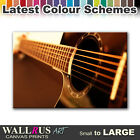 Guitar MUSIC INSTRUMENTS Canvas Print Framed Photo Picture Wall Artwork WA