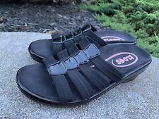Klogs Sandals Slides 8M Black Excellent Condition
