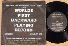 "FREDA GOTHENBURG - Like a Dream  (GHM 1979 / plays backwards! / 7""-SINGLE)"