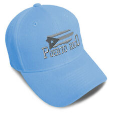 Dad Hats for Men Puerto Rico Island Map Flag B Embroidery Women Baseball Caps