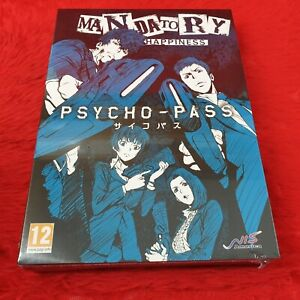 ps4 PSYCHO-PASS Mandatory Happiness Limited Edition NEW & Sealed PS5 Compatible