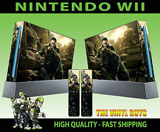 Nintendo Wii AUTOCOLLANT Loki God of Méfait SUPERVILLIAN Skin & 2 Pad Stickers